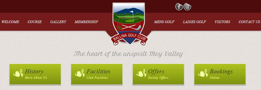 brs online golf tee booking system for ballina golf club. Black Bedroom Furniture Sets. Home Design Ideas